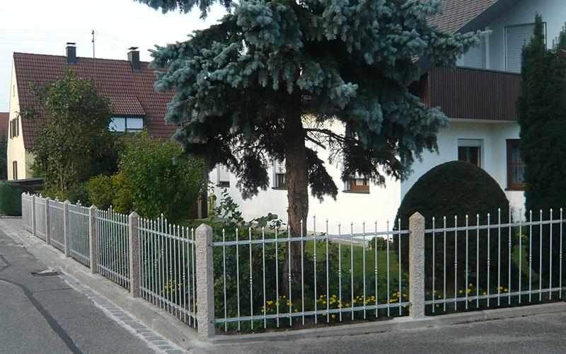 Zaun individuell erstellt