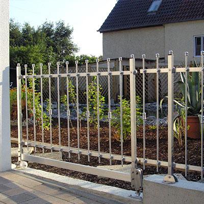 Gartentür Nebeneingang