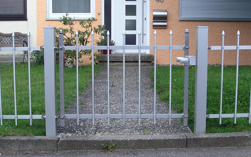 Tor 1 Meter - Gartentür Alu