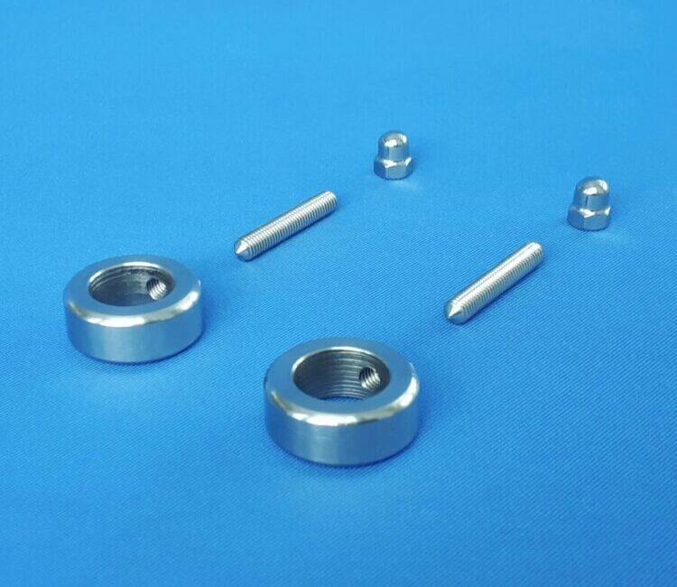 Zaunhalter für Zaunstab 15 mm Edelstahl