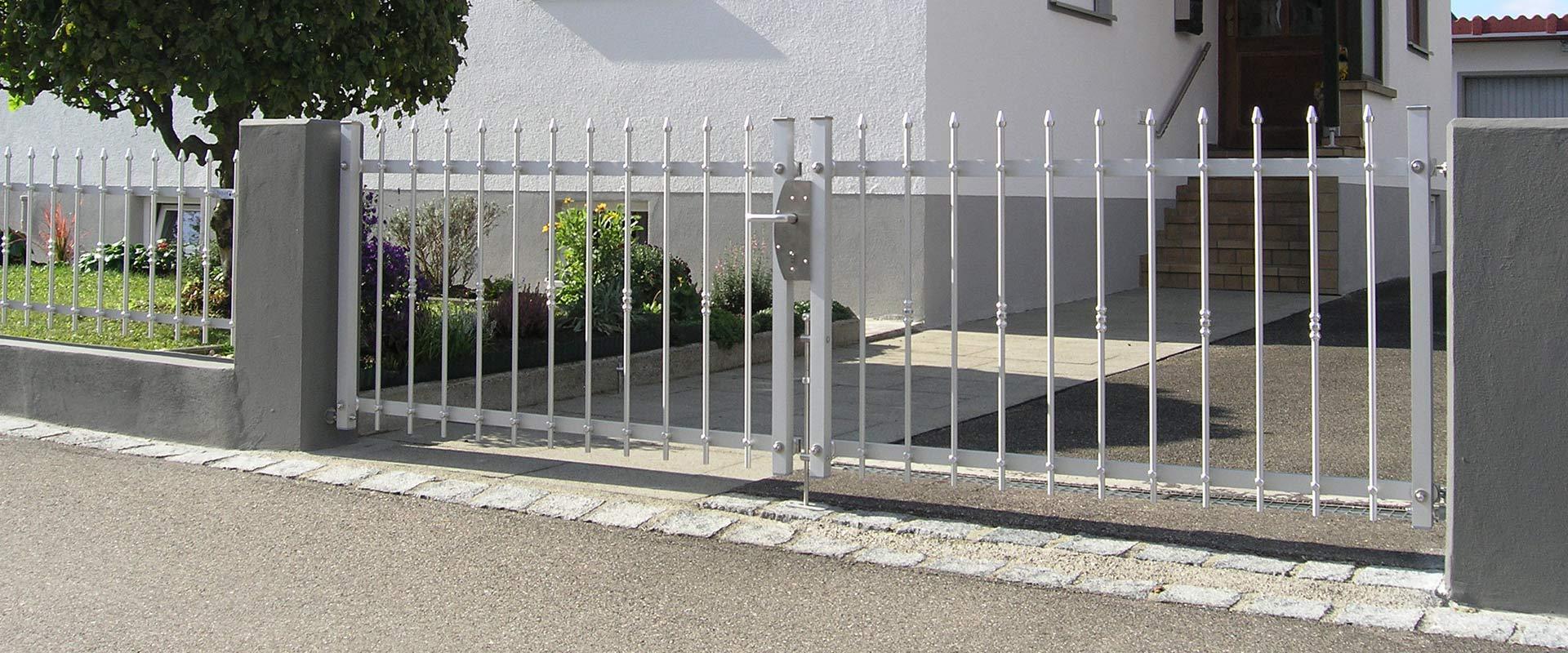 Torsystem Alu.fix Schloss - Seiler Zaun Design